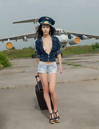 Prepped for flight