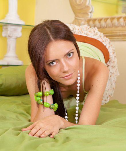 Ultra-cute youthful gal