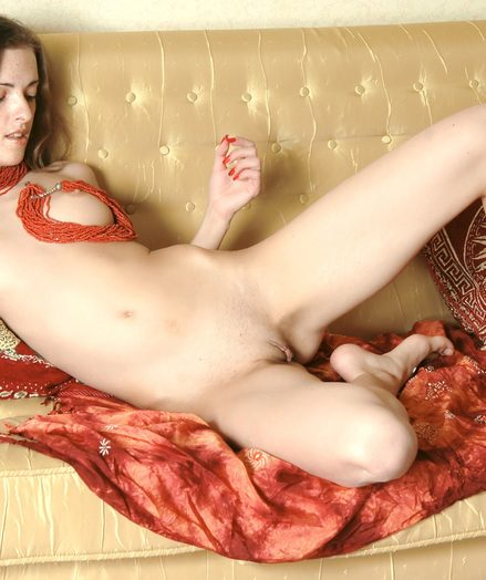 Hottie stretching gams