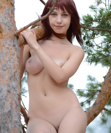 Beautiful booby damsel