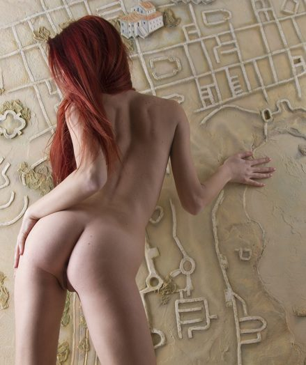 Epic nude ginger-haired