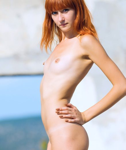 Cold nubile red-haired