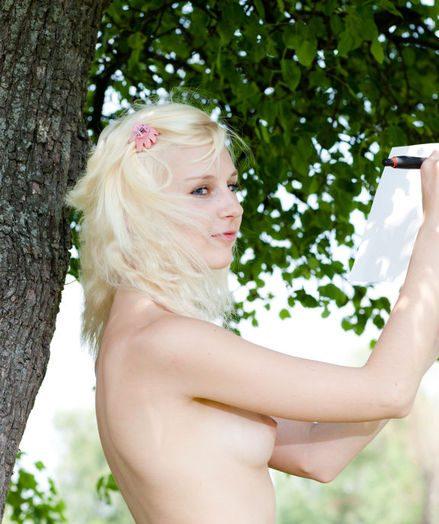 Tasty nude teenager