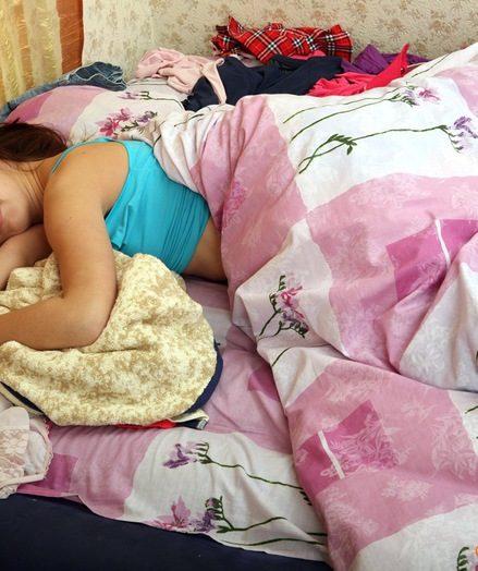 Sleepy sweetheart
