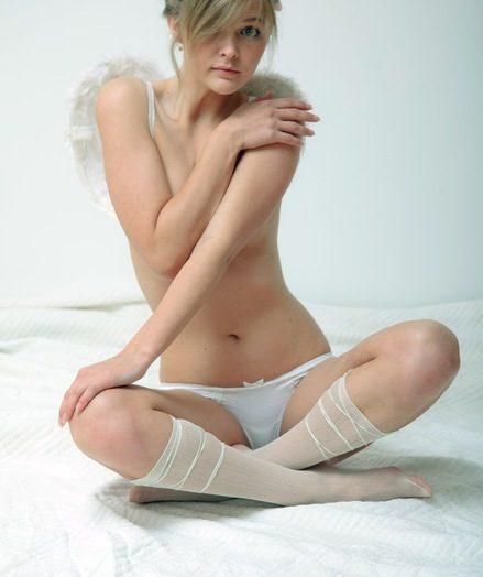 Teenage with wings
