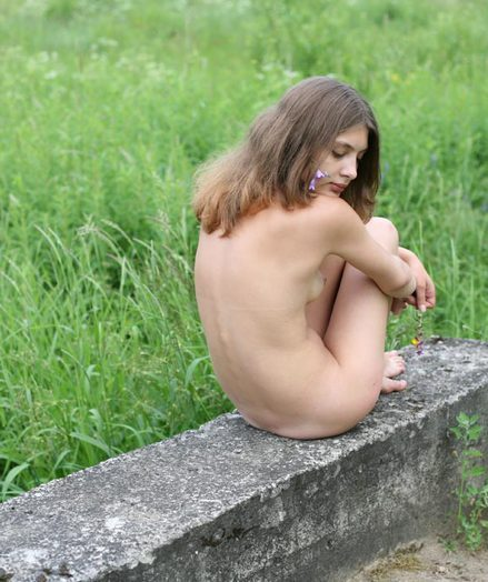 Russian first-timer model